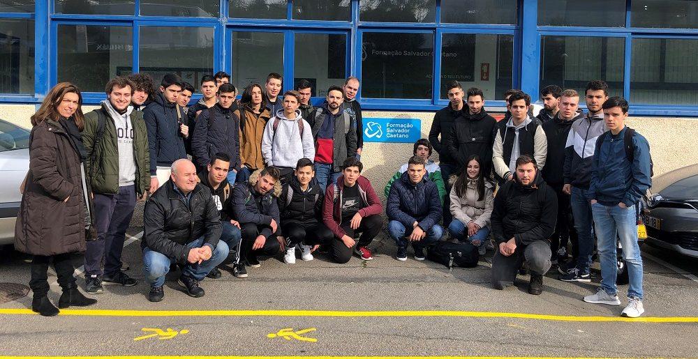 Visita dos Formandos de Braga à Sede